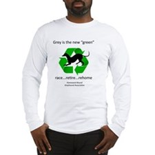RGB-Recycled-greyhound Long Sleeve T-Shirt