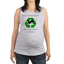 RGB-Recycled-greyhound Maternity Tank Top