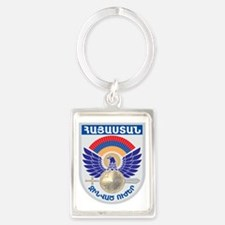 GA_ArmenianMilitary Portrait Keychain