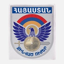 GA_ArmenianMilitary Throw Blanket