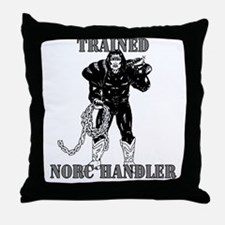 Handler2 Throw Pillow