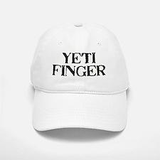 yeti finger Baseball Baseball Cap