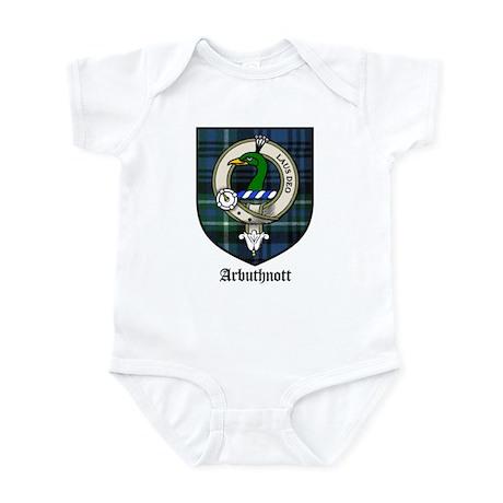 Arbuthnott Clan Crest Tartan Infant Bodysuit