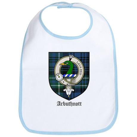 Arbuthnott Clan Crest Tartan Bib