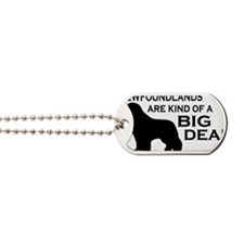 Newfs are a Big Deal Dog Tags