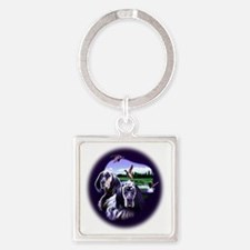Setters Square Keychain