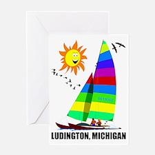 LUDINGTON 4 Greeting Card