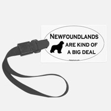 Newfs are a Big Deal Luggage Tag