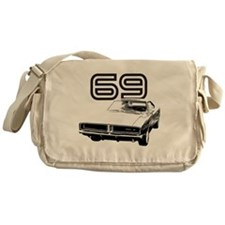 1969 Charger 03 Messenger Bag