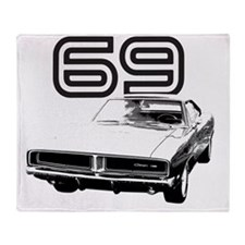 1969 Charger 03 Throw Blanket