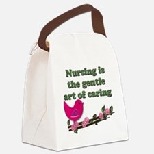 nursing copy Canvas Lunch Bag