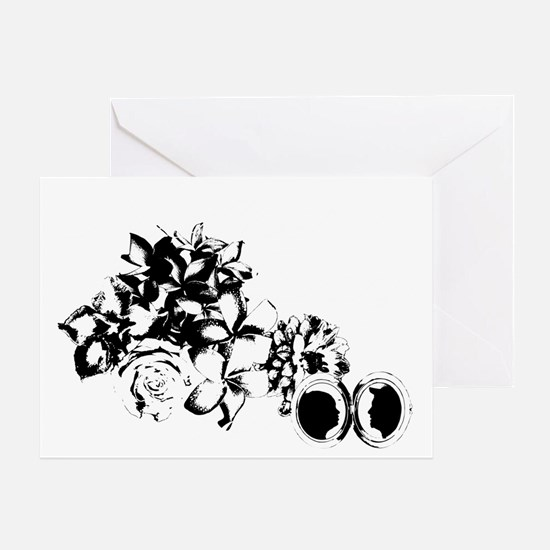 mothers_day_black Greeting Card