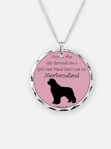 Newf - Girls Best Friend Necklace