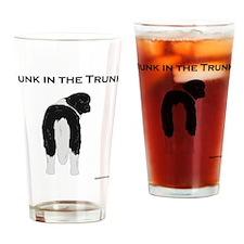 Landseer Junk in the Trunk Drinking Glass