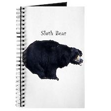 sloth bear Journal