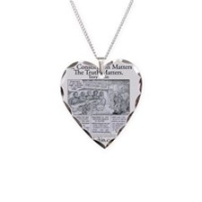 Freedom Shirt Necklace Heart Charm
