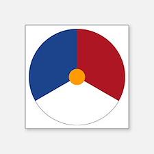 "nl2 Square Sticker 3"" x 3"""