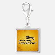 retrievin-distressedbgchocsq Silver Square Charm