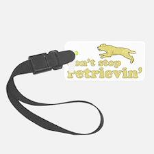 retrievin-yellowdk Luggage Tag