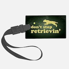 retrievin-distressedbgyel3555 Luggage Tag