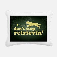 retrievin-distressedbgye Rectangular Canvas Pillow