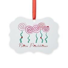 Nurse Practitioner Tree Flowers w Ornament