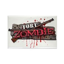 zombiestrip_ben_wall Rectangle Magnet