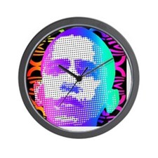 Obama Pop Art Wall Clock