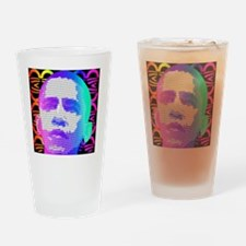 Obama Pop Art Drinking Glass
