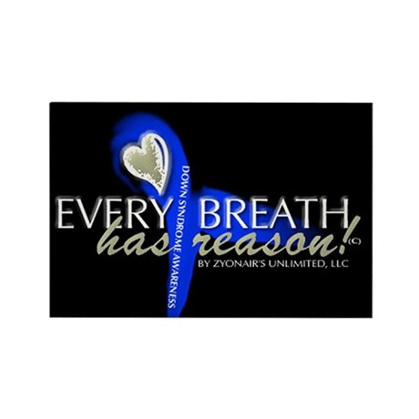 Every Breath Rectangle Magnet (10 pack)