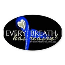 Every Breath Oval Decal
