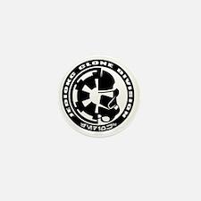 clone logo black Mini Button