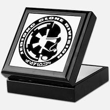 clone logo black Keepsake Box