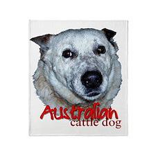 AustCattleDog Throw Blanket