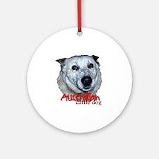 AustCattleDog Round Ornament