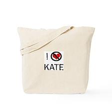 I Hate KATE Tote Bag