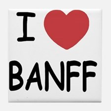 BANFF Tile Coaster