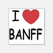 "BANFF Square Sticker 3"" x 3"""