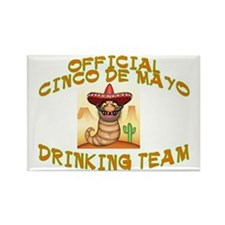 CINCO DRINKINGB TEAM Rectangle Magnet