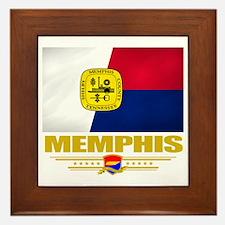 Memphis (Flag 10) Framed Tile