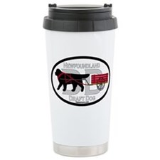 Newfoundland Draft Dog Title Travel Mug