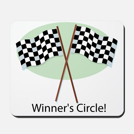 winners circle Mousepad
