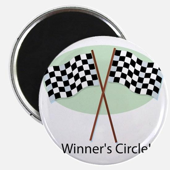winners circle Magnet