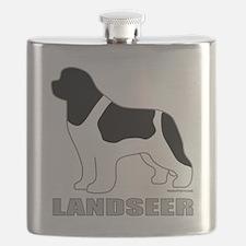 LandseerDog Flask