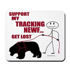 Get Lost Mousepad