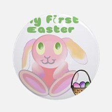 babys-first-easter3 Round Ornament