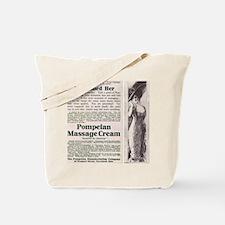 Pompeian Massage Cream Tote Bag