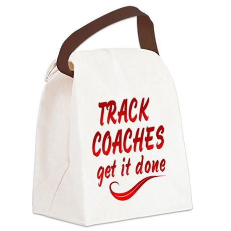 track Canvas Lunch Bag