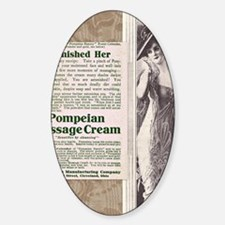 Pompeian massage cream ad Decal