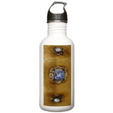 gold_emerald_ring_54_i Water Bottle